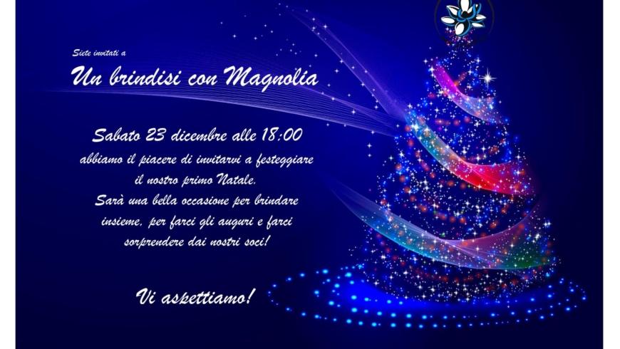 Brindisi Magnolie Natale 2017